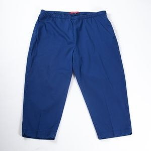 Marina Rinaldi Elastic Waist Capri Pants 27/18